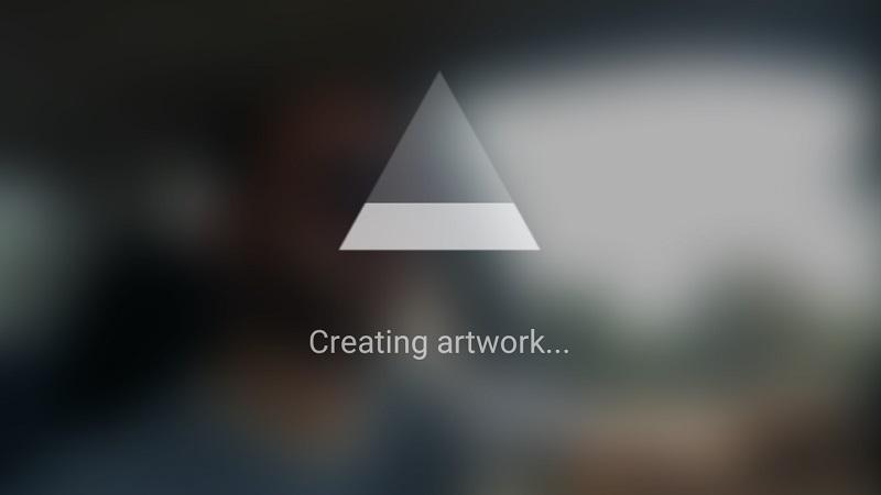 Prisma-creating-artwork