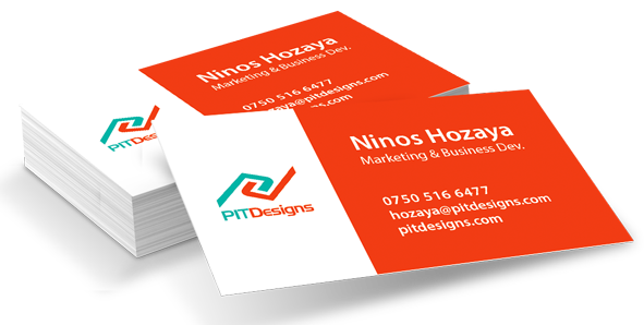 PIT Designs business card