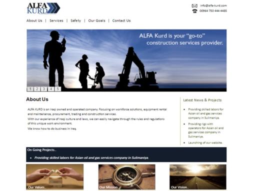ALFA Kurd Website