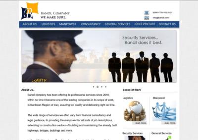 Banoll Company Website