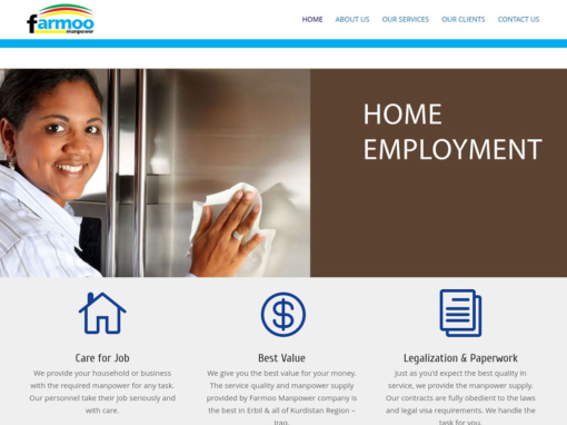 Farmoo Manpower Website