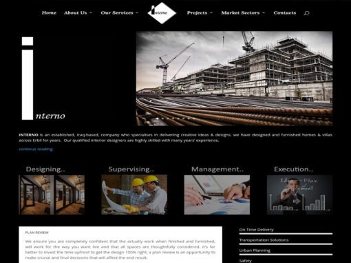 Interno Group – Website