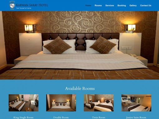 Karwan Saray Hotel Website