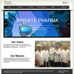 Private Pharma Website