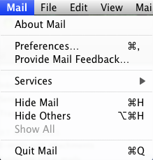 Mac Mail Client Tutorial - PIT Designs Webmail - PIT Designs