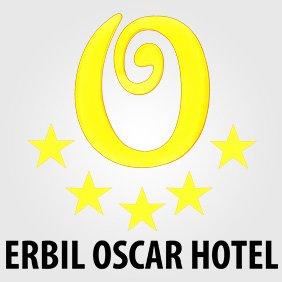 Erbil Oscar Hotel دیزاینی لۆگۆ