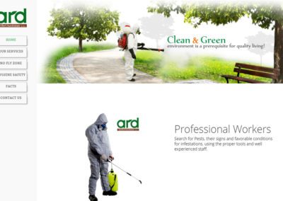 Ard Pest Control Website