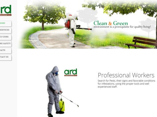 Ard Pest Control Website
