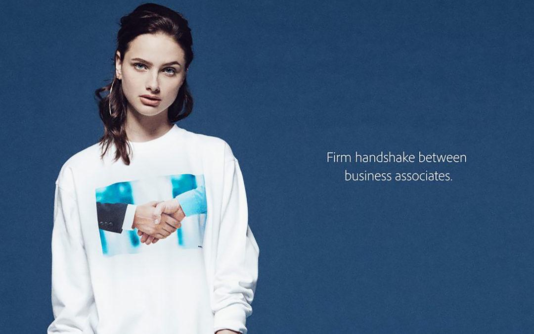 Introducing Adobe stock apparel