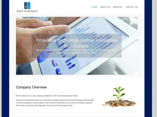 Point Investment Company Website