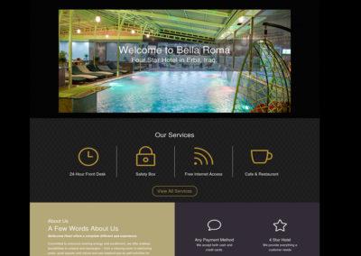 Bella Roma Hotel Website