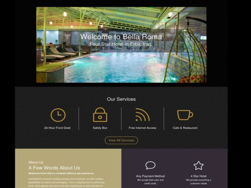 Bella Roma Hotel Website