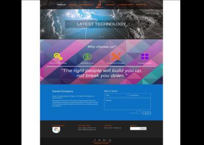 Danet Company Website