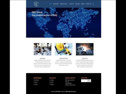 QMC Engineering Website