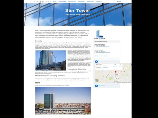 SterTower Group Website