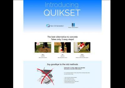 Quikset MENA Website
