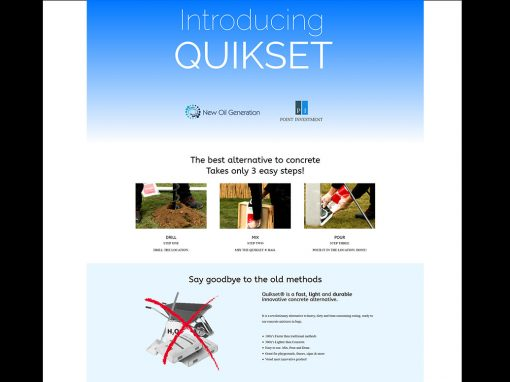 Quikset MENA Website