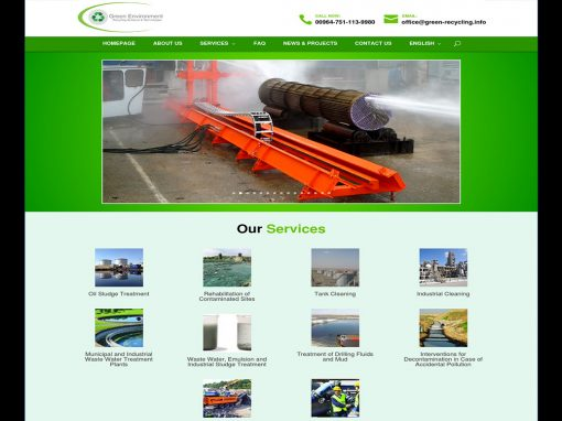 Green Environment Company Website
