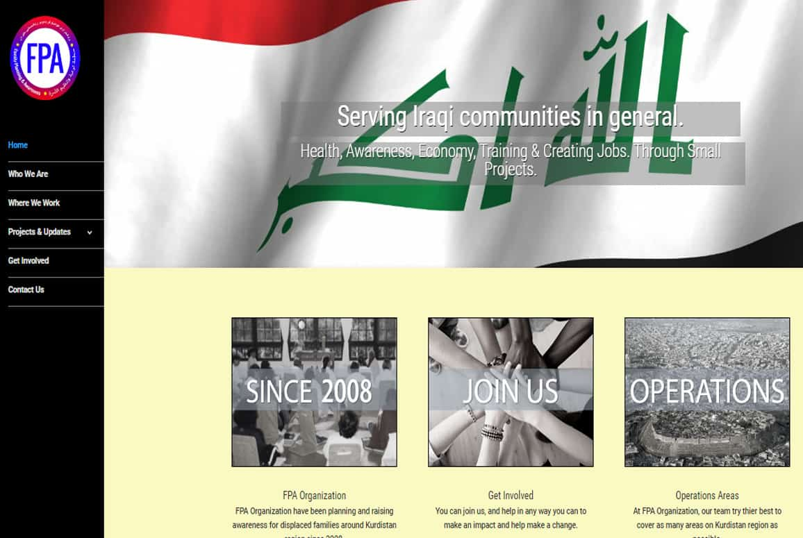FPA Organization Website