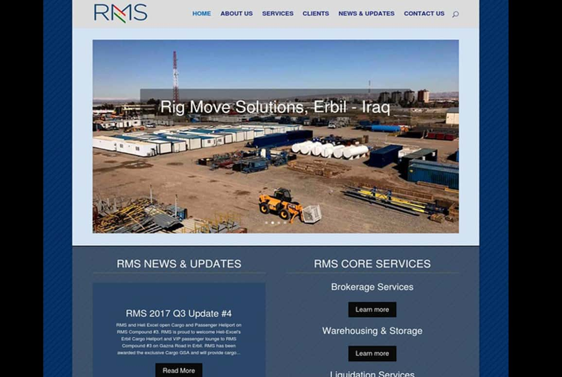 RMS Company Website