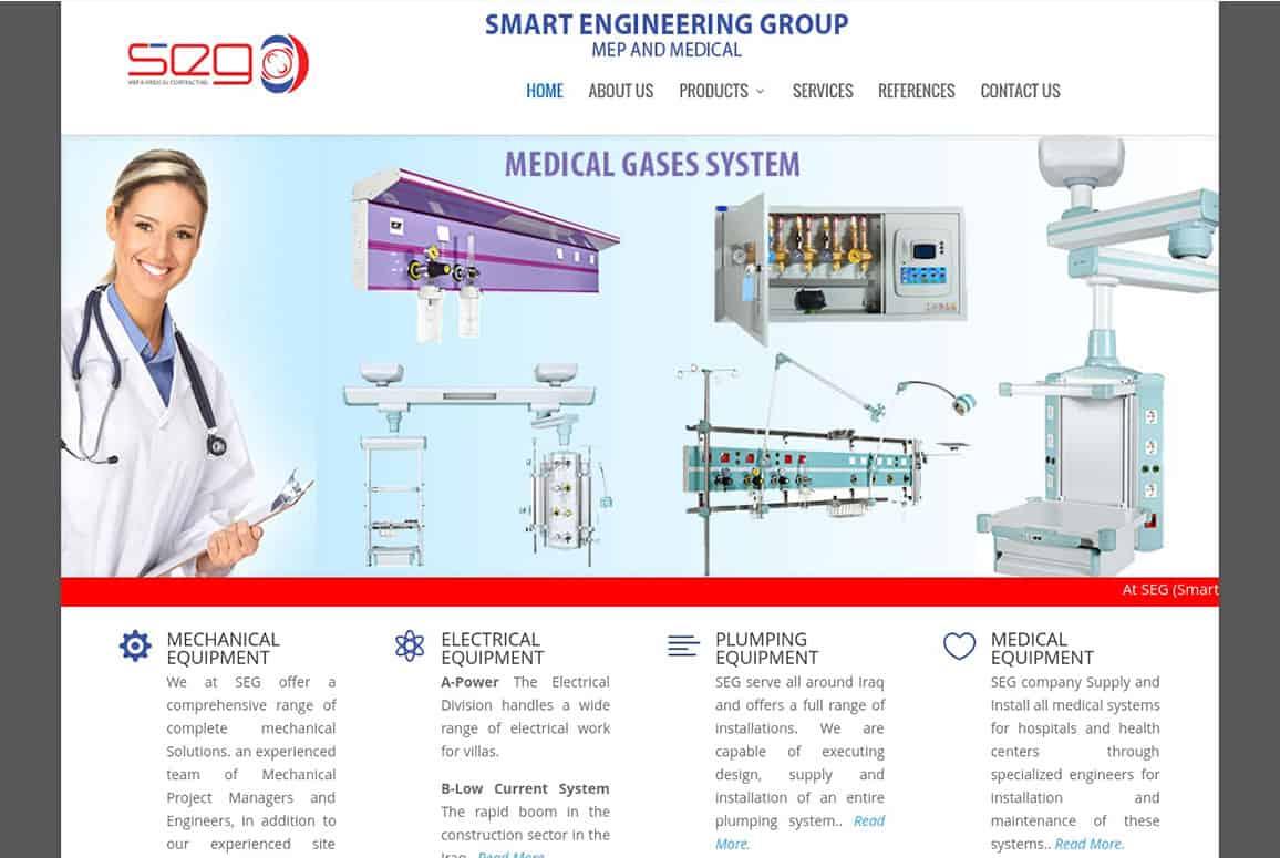 Smart Engineering Group Website