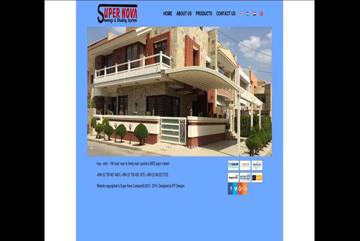 Super Nova Website