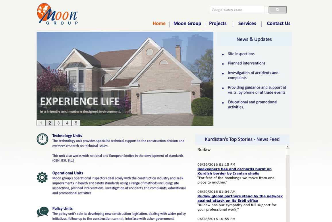 Moon Group Website