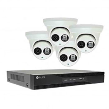 CCTV 4-Dome-Turret-3MP-8-Channel-NVR-Erbil