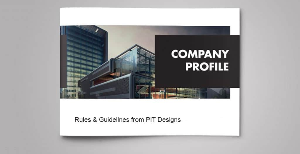 How to Create a Company Profile Content - PIT Designs