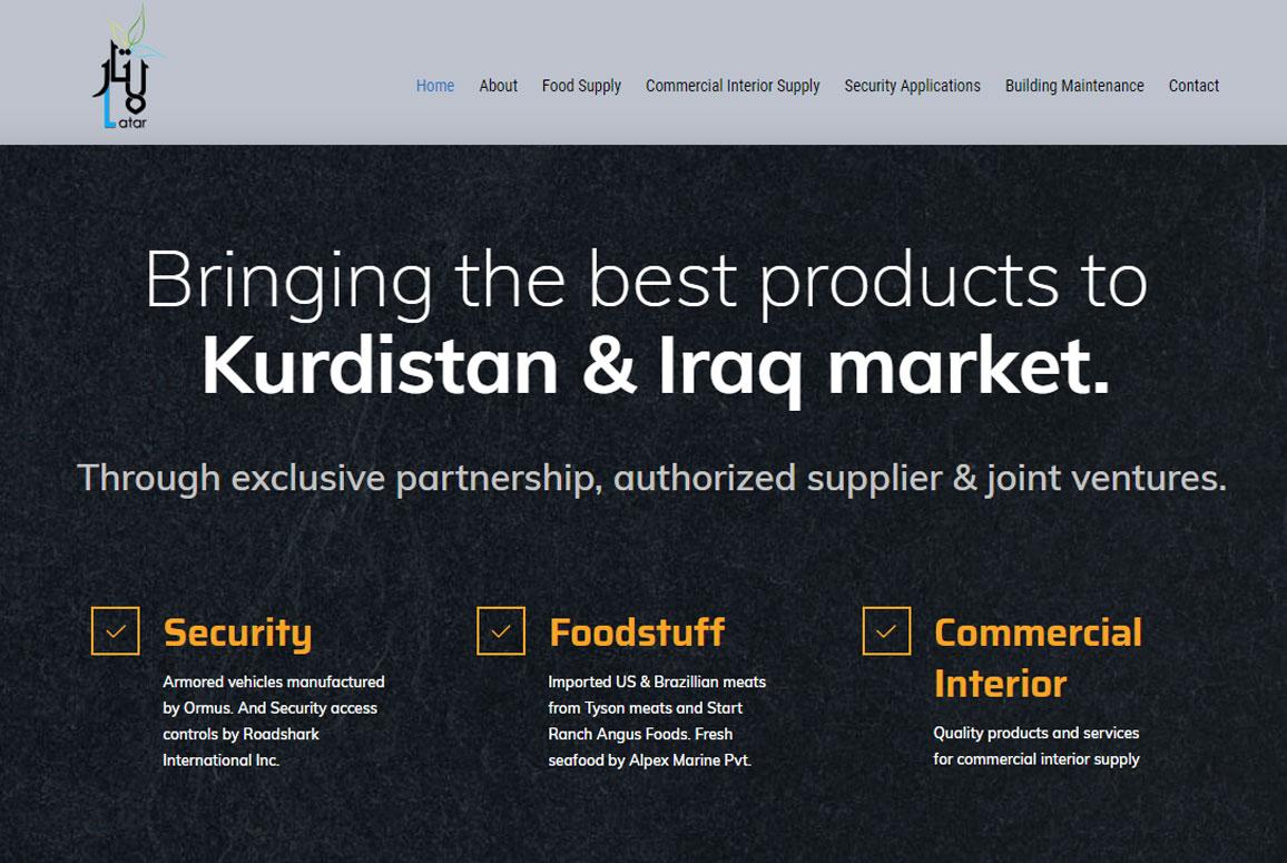 Latar Company Website