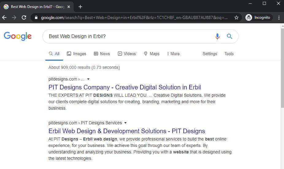 Best Web Design in Erbil?