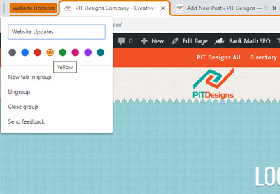 How to Enable Chrome Group Tabs