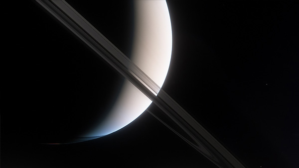 Saturn's Majestic Rings - Space Engine