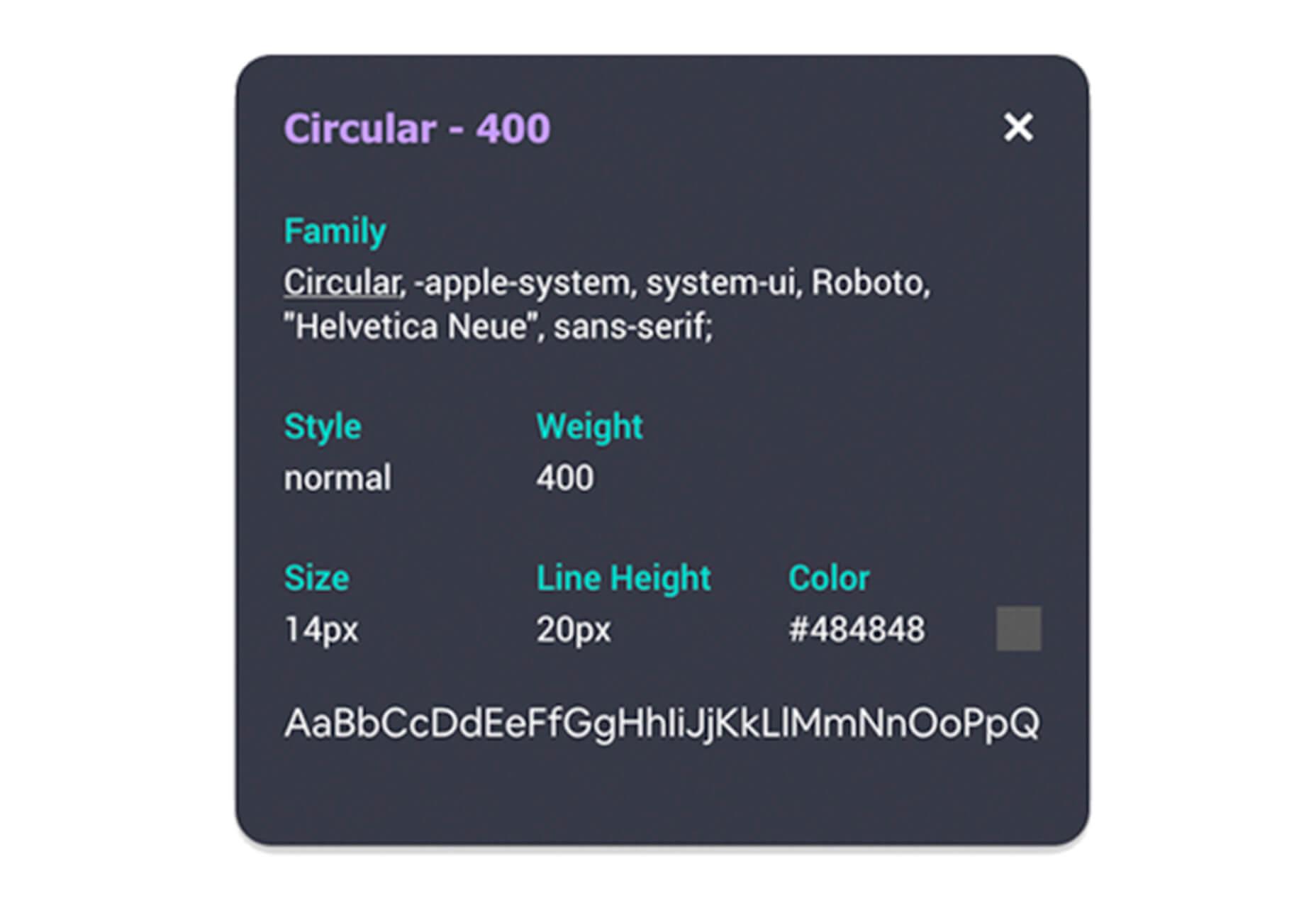 CSS Inspector