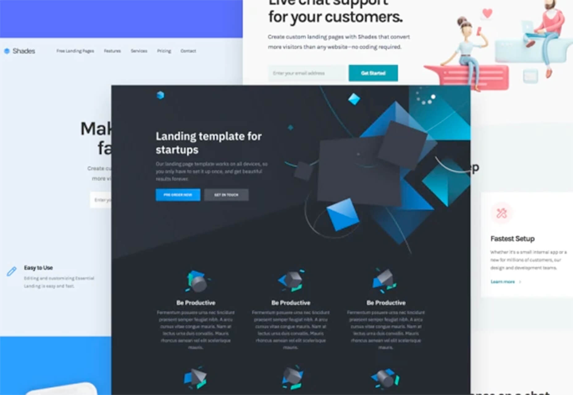 Free HTML Landing Page Templates