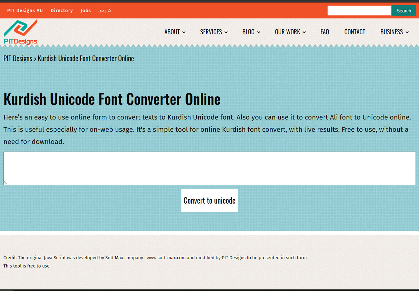 Kurdish Unicode Font Converter Online