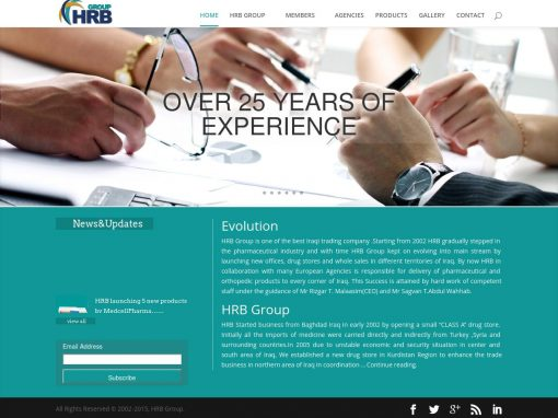 HRB Group Website