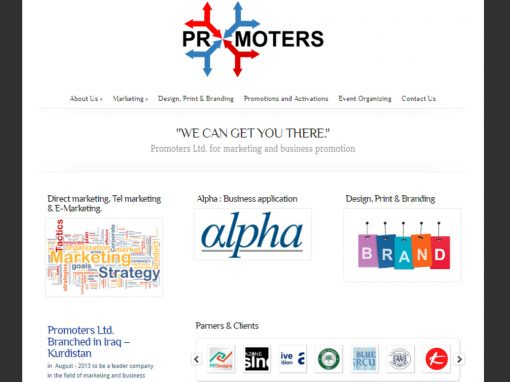 Promoters Ltd. Website